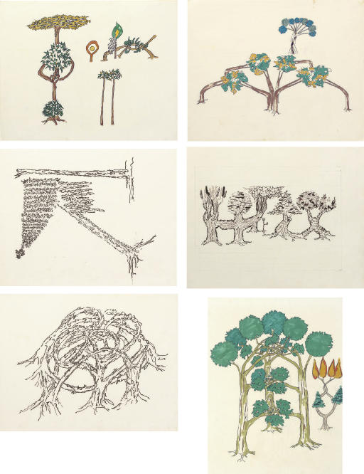 Untitled (Tree Forms)