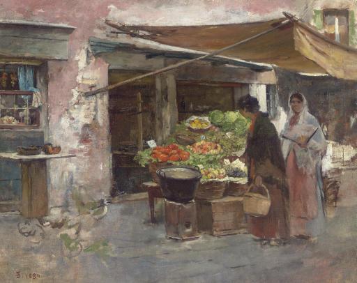 Venetian Fruit Market