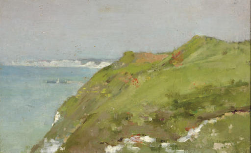 Cliffs by the sea
