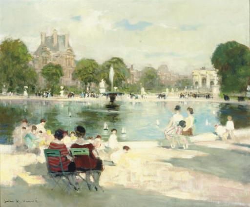 Bassin aux Tuileries