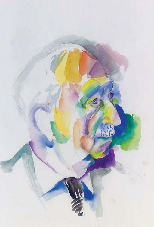 (Untitled) Head of John Dracopoli