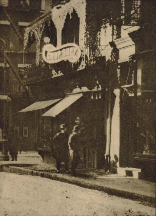 The Chinese Quarter, from London, 1908