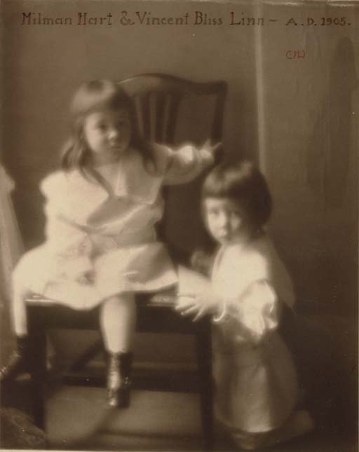 Milman Hart and Vincent Bliss Linn, 1905
