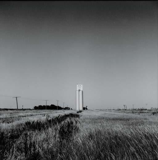 Grain Elevator, Haggard, Kansas, 1973