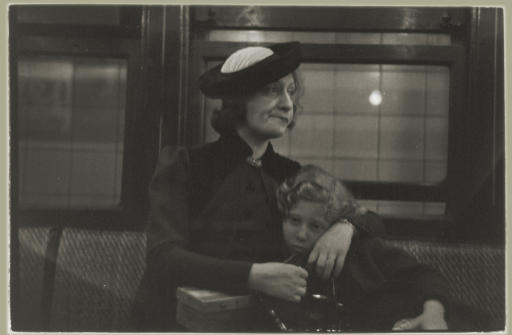 Subway Portrait, New York, 1941