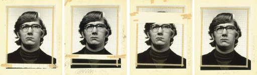 """Study for """"Keith/4 Times"""", 1975"""