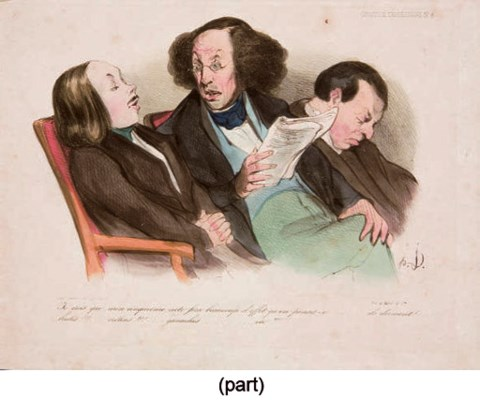 D'APRES HONORE DAUMIER (1808-1