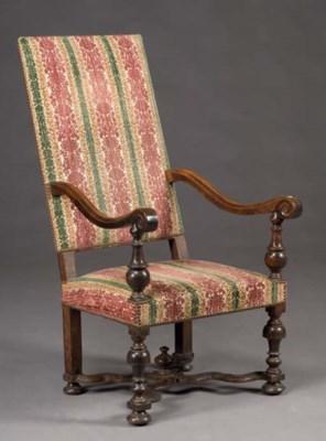 fauteuil de style louis xiii christie 39 s. Black Bedroom Furniture Sets. Home Design Ideas