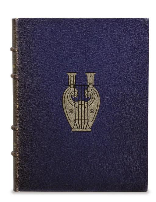 [GIRALDON] -- RÉGNIER, Henri de (1864-1936). Le Médaillier. Illustrations de Adolphe Giraldon. Paris: Le Livre contemporain, 1923.
