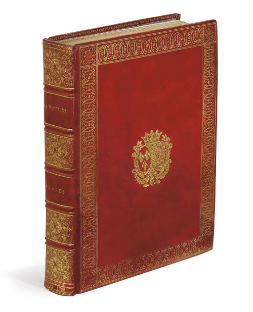 LA FONTAINE, Jean de (1621-1695). Fables. Imprimé par ordre du roi pour l'éducation de Monseigneur le Dauphin. Paris: Didot l'aîné, 1788.