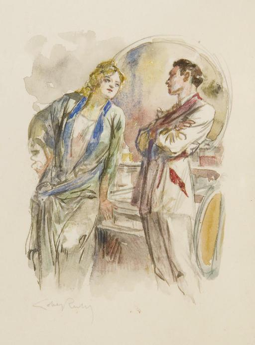 [LOBEL-RICHE] -- COLETTE, Sidonie Gabrielle (1873-1954). Chéri. Pointes-sèches de Lobel-Riche. Paris: H. Blanchetière, [1925].