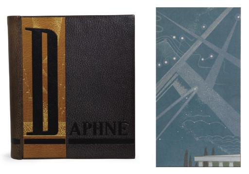 [SCHMIED] -- VIGNY, Alfred de (1797-1863). Daphné. Paris: Schmied, 1924.
