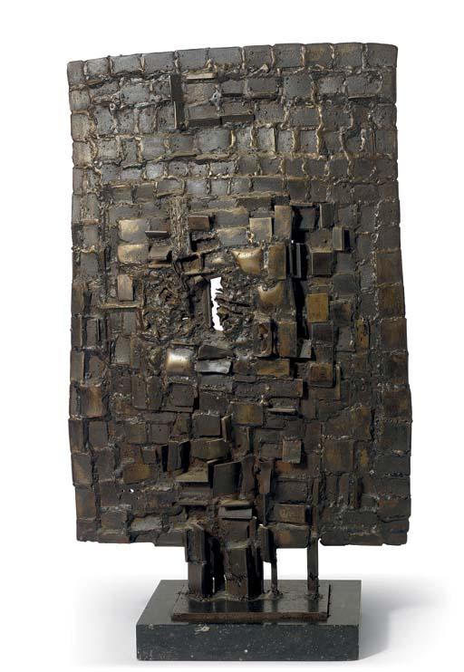 Sculpture plate ou Plaque Rasmussen