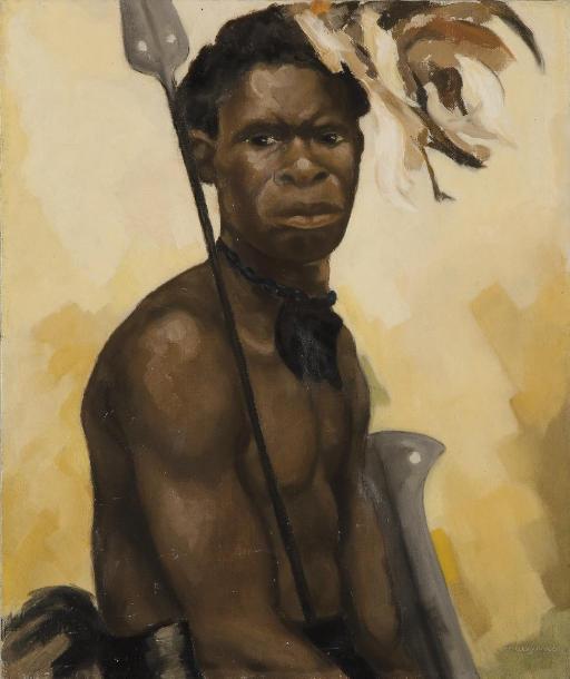 Portrait d'un guerrier