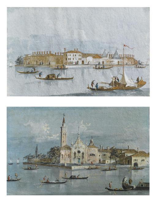 Isola del Lazzaretto Nuovo, Venezia; e Isola della B. V. delle Grazie, Venezia