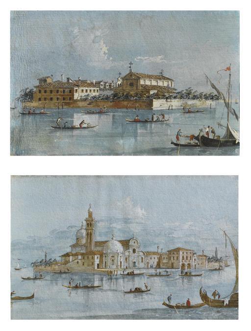 Isola di S. Lazzaro degli Armeni, Venezia; e Isola di San Michele di Murano