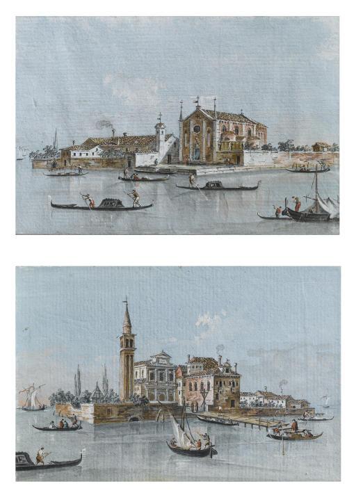 Isola di S. Cristoforo, Venezia; e Isola di S. Spirito, Venezia
