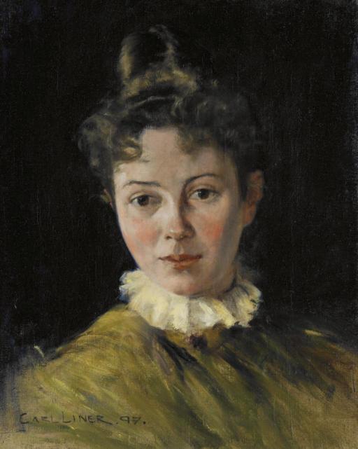 Portrait von Olga Zäch-Hirschi, 1897