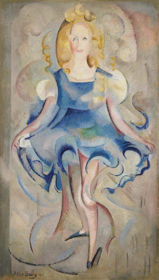 Petite fille qui danse, 1915