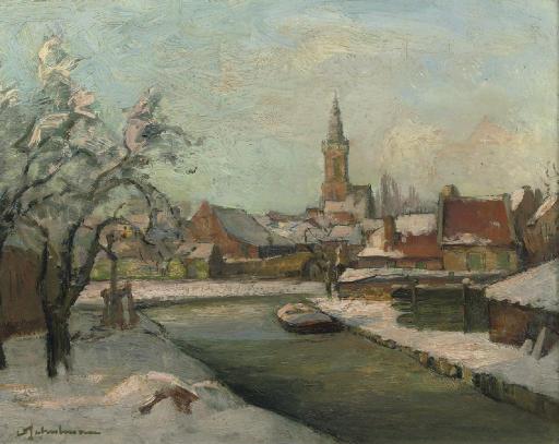 The harbour of Edam