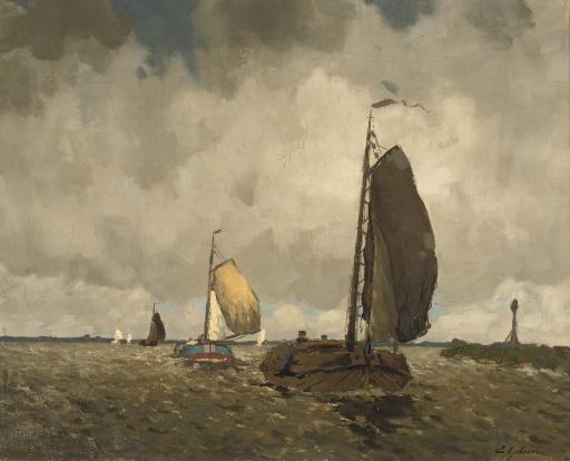 Buiige dag, Sneekermeer: sailing on the Sneekermeer