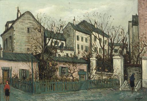 Rue l'Abreuvoir, Montmartre, Paris