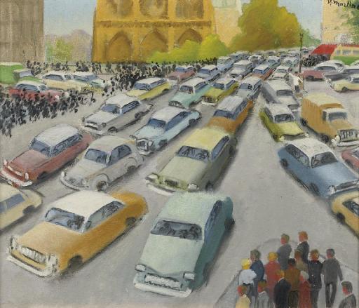 Traffic in Paris