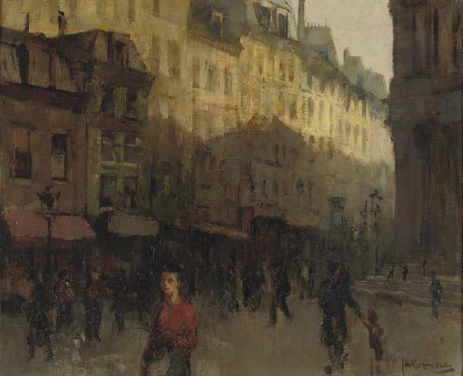City view, Paris