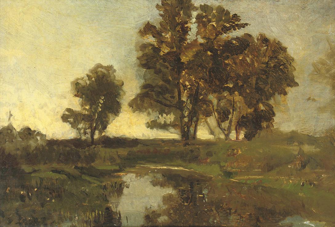Praterauen bei Wien: by the pond