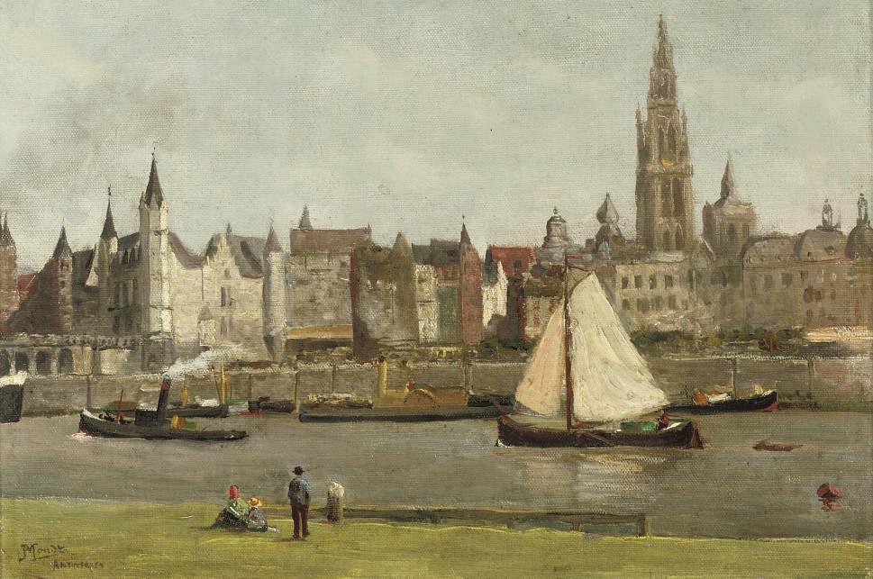 On the waterfrond, Antwerpen