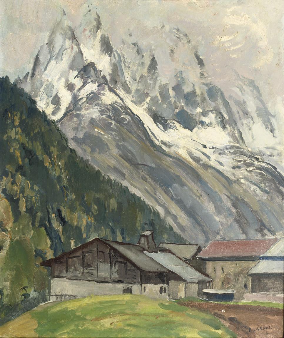 A mountainous landscape, Switzerland