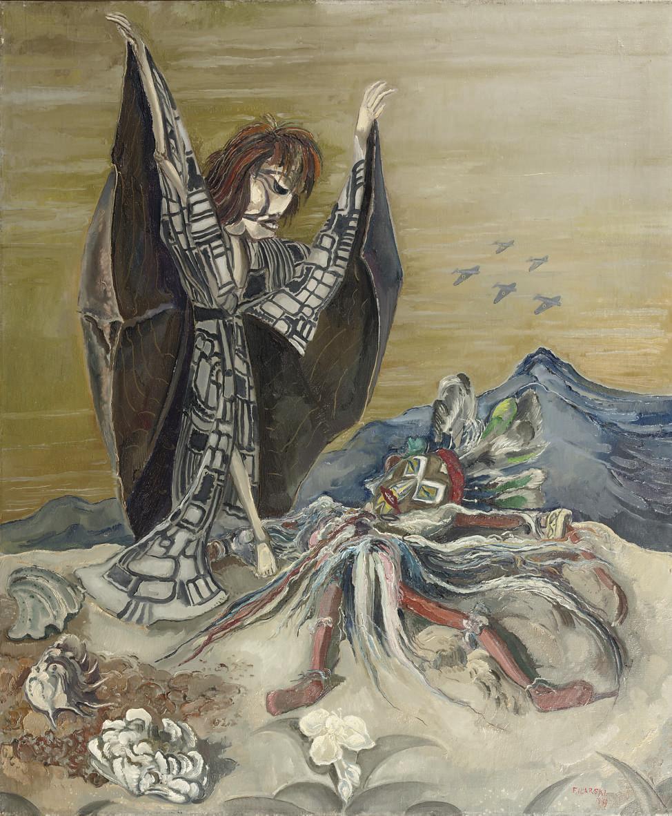 Gevallen oorlogsgod - Fallen God of War, a puppet of Harry Tussenbroek