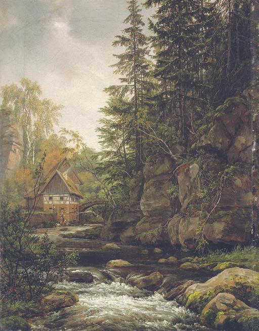 Die Lochmühle in der sächsischen Schweiz