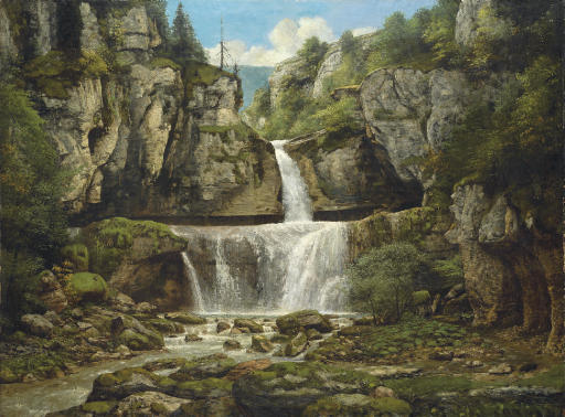 La Cascade de la Billaude, Franche Comté