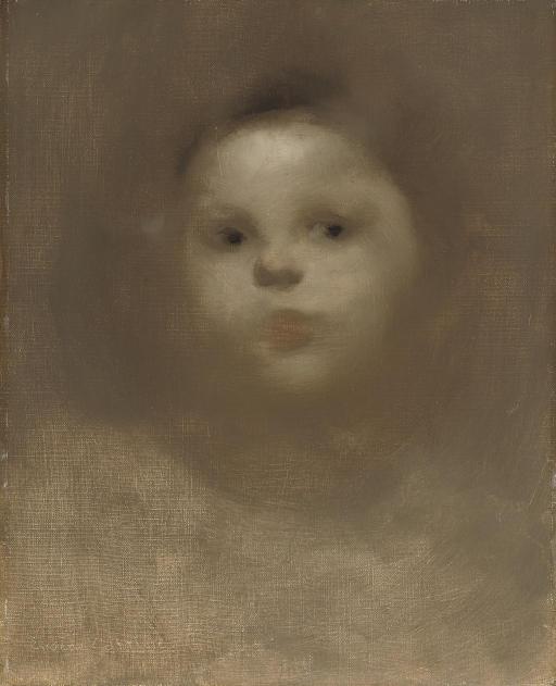 Portrait of the artist's child
