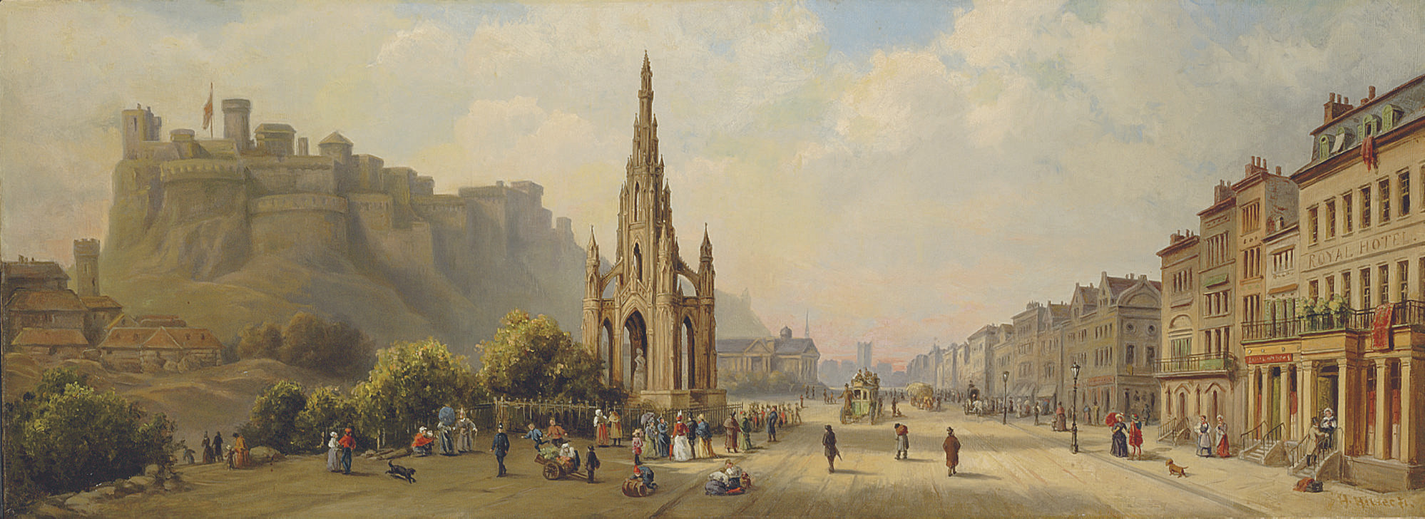 The Scott Monument, Prince's Street, Edinburgh