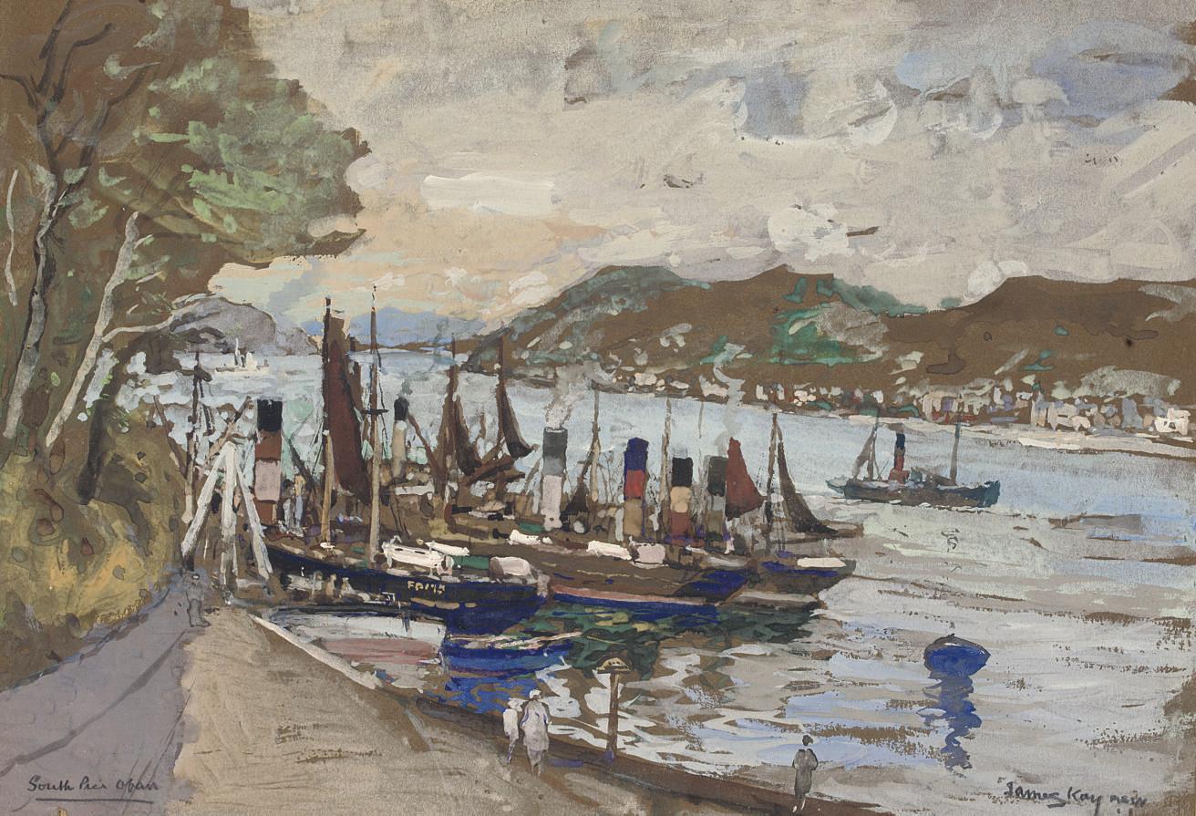 South Pier, Oban