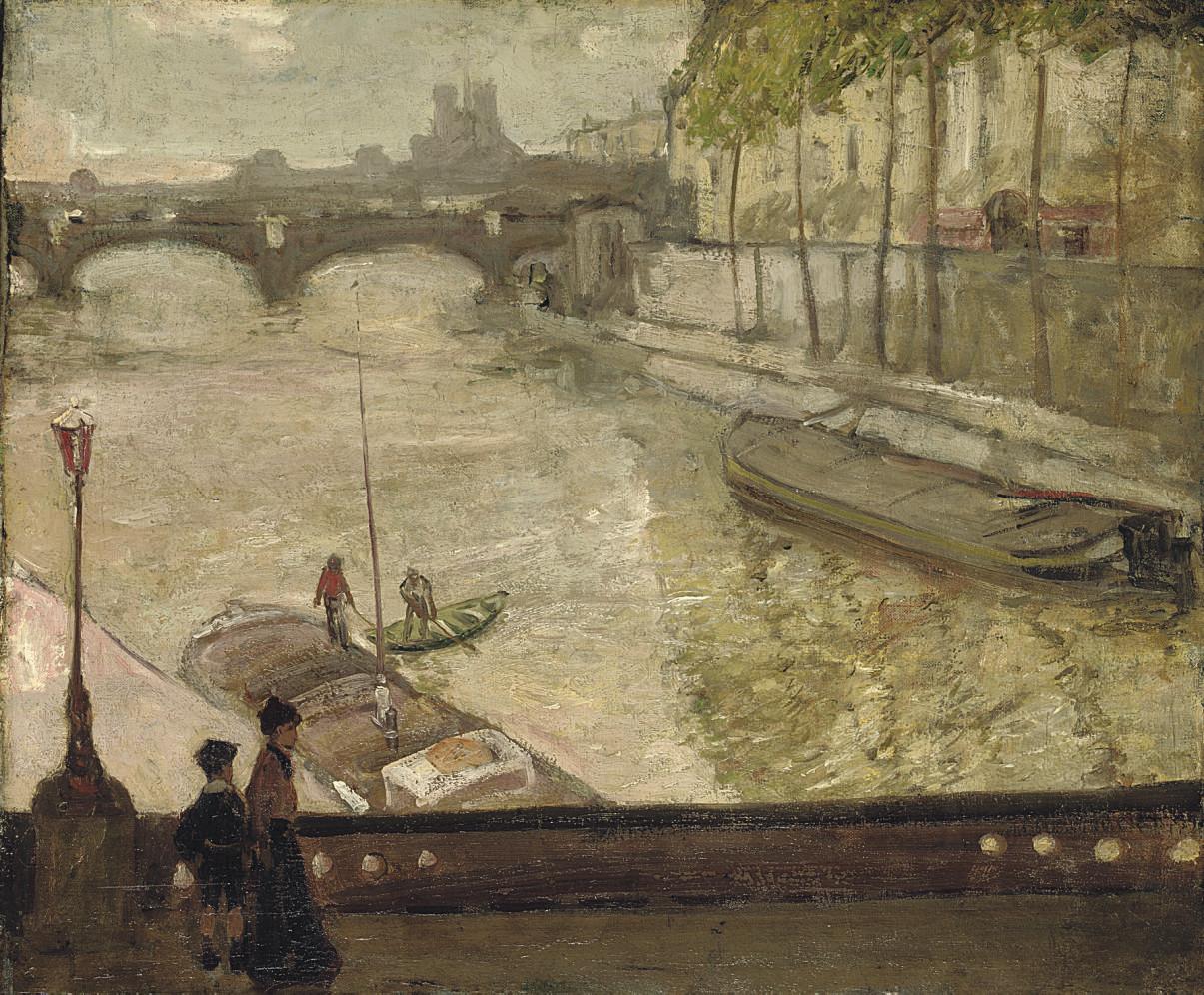 On the Seine, Paris