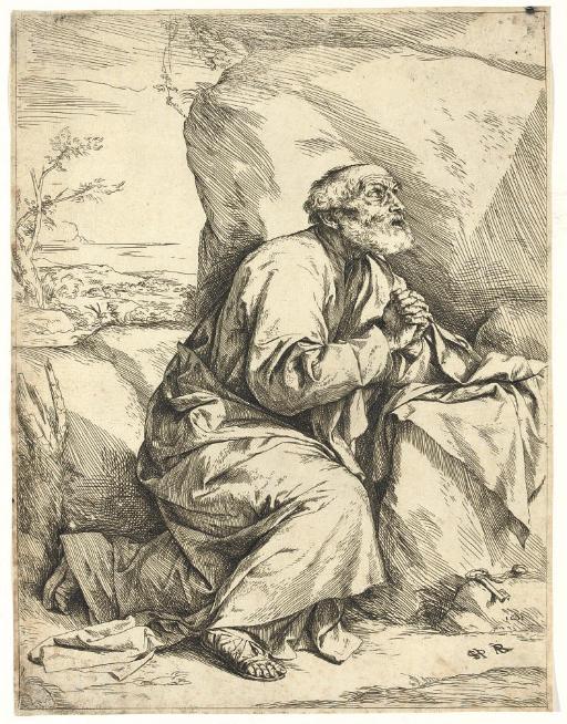 St. Peter, Penitent (B. 7; Brown 6 I)
