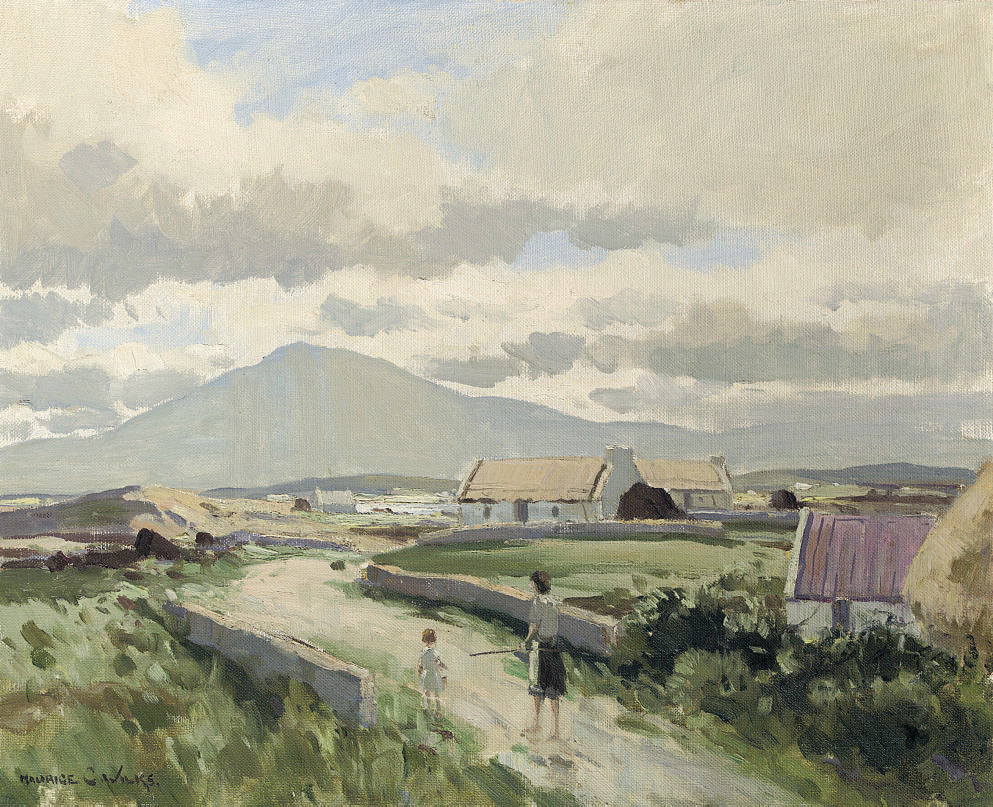After Rain, Achill Island
