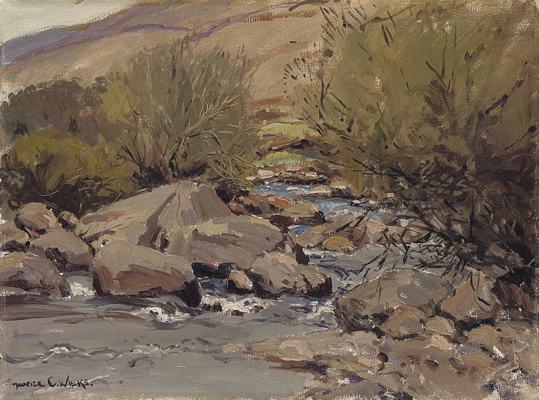 Early Spring, Cushendun River, Co. Antrim
