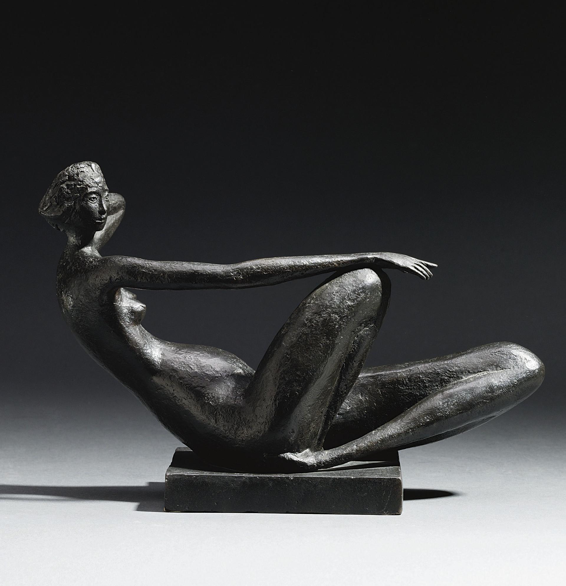 Reclining female figure