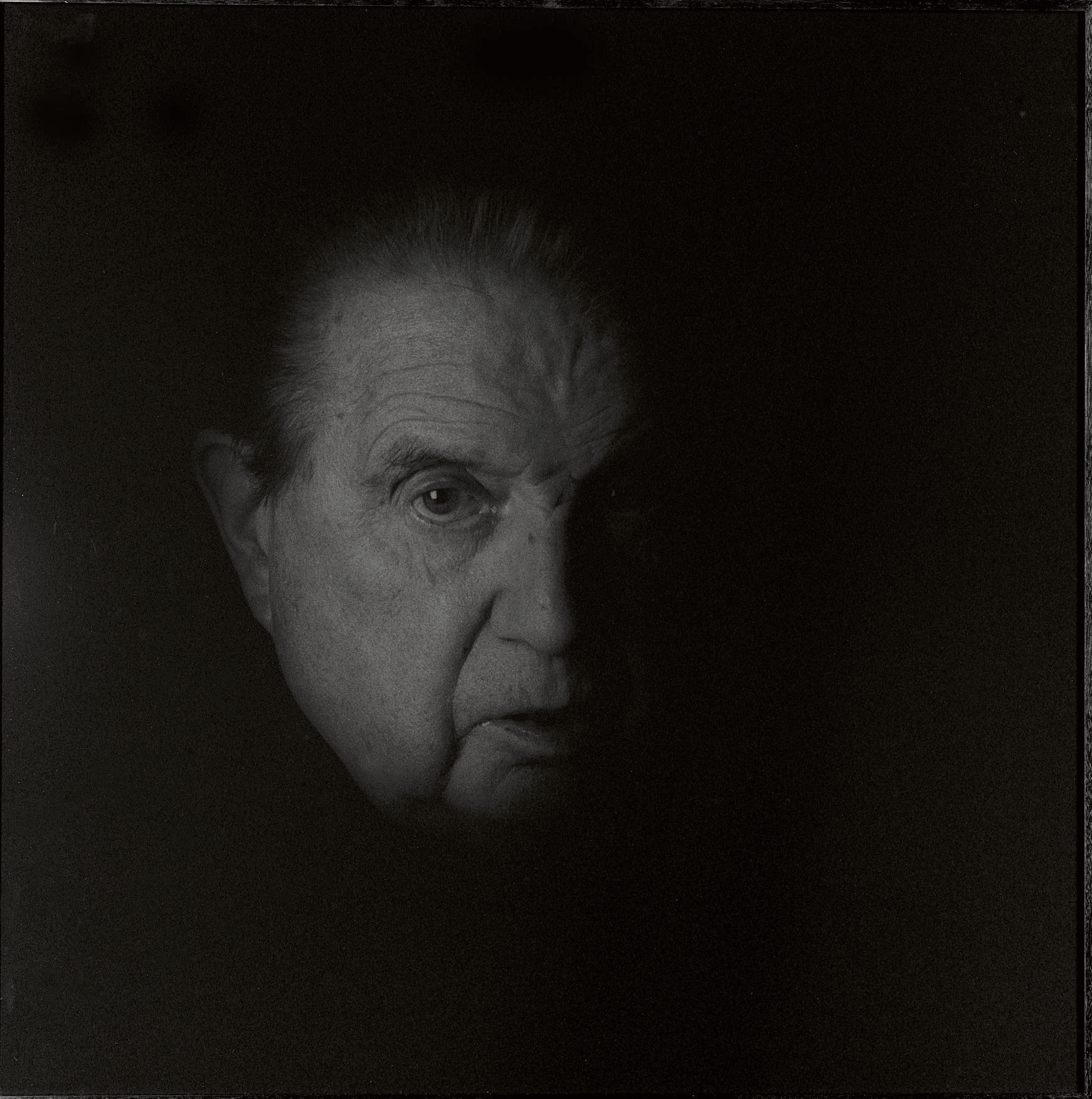 Black Portrait #14, 1991