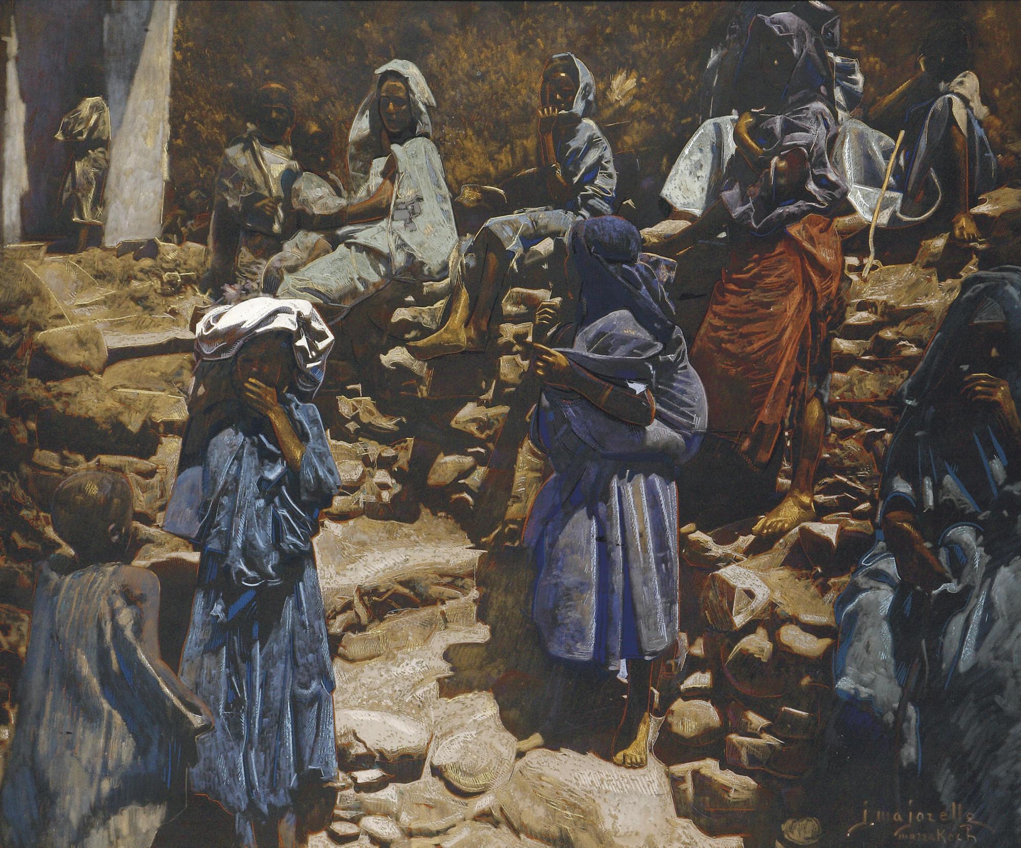 In the Kasbah, Marrakech