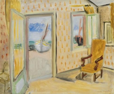 Henri matisse 1869 1954 int rieur porte ouverte for Matisse fenetre ouverte