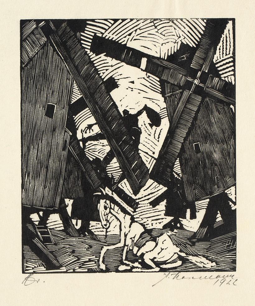 Don Quijote von der Mancha - Ritter der traurigen Gestalt, B. Behrs Verlag Friedrich Feddersen, Berlin Leipzig, 1922 (Hoh 1322-1341)
