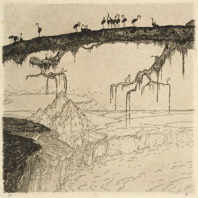 Schaffende Kräfte, Itzehoe Holstein, 1909
