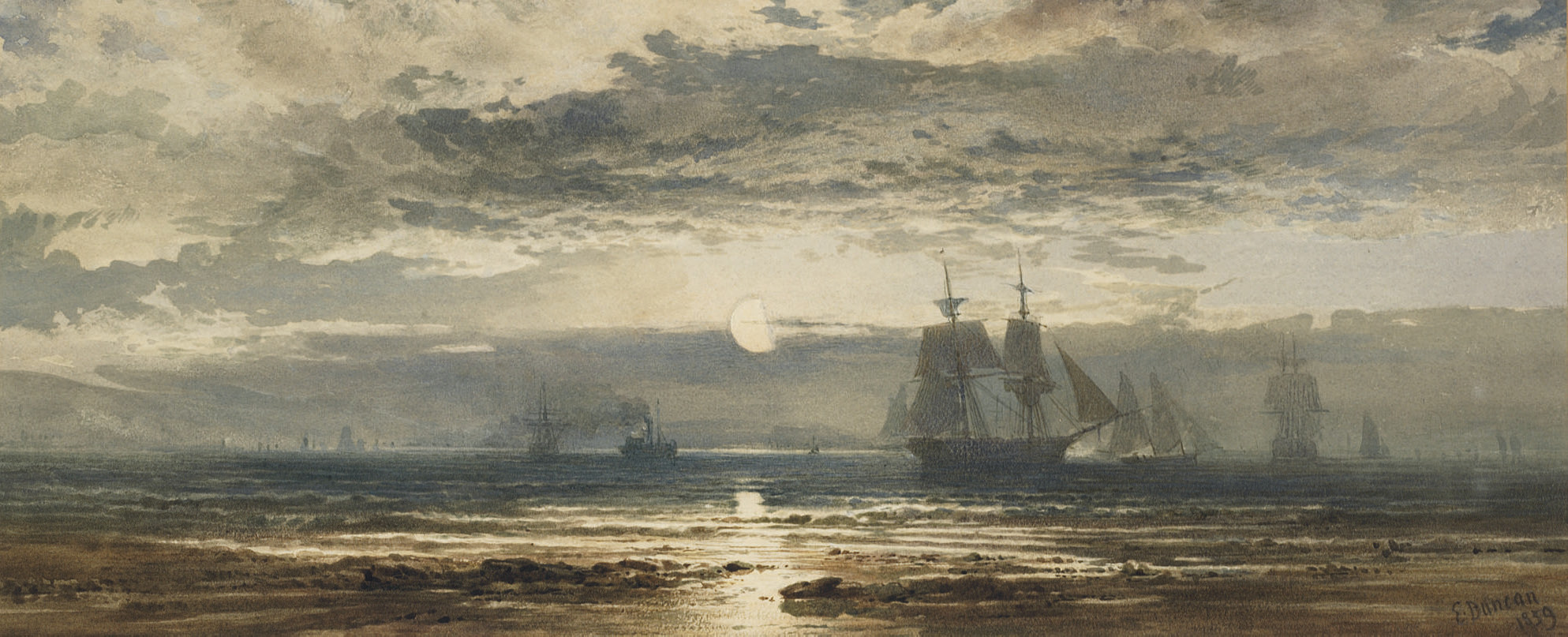 Moonlight: ships that pass in the night