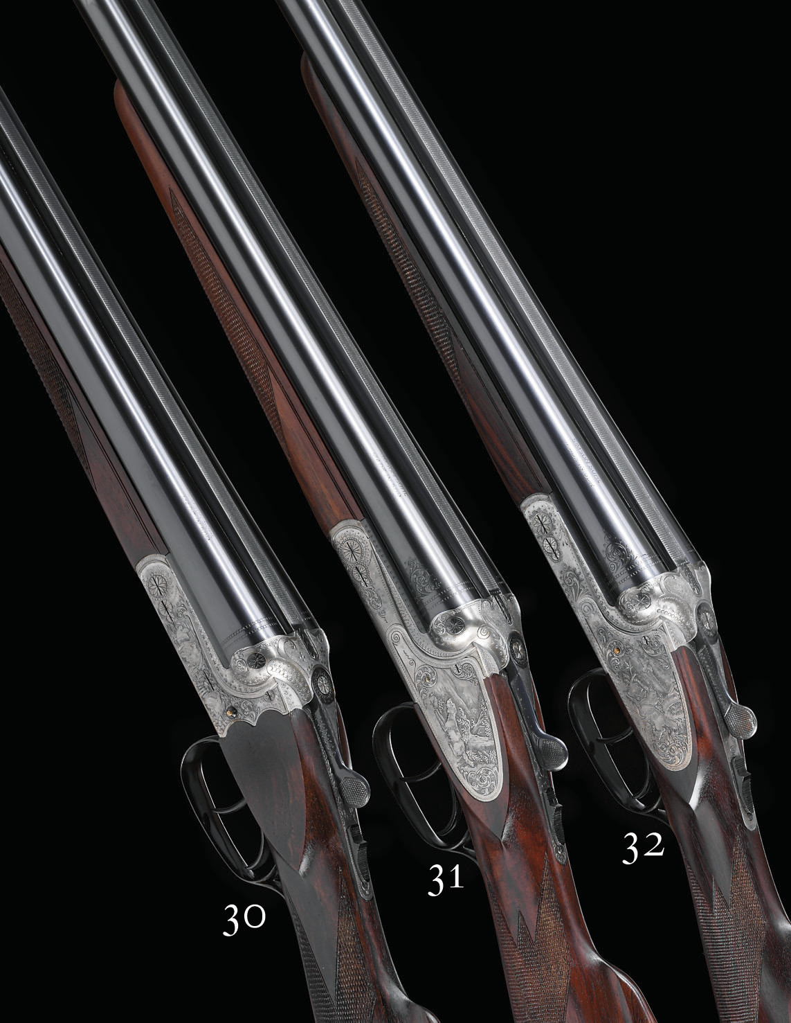 AN AS NEW 12-BORE '74 E' MODEL BOXLOCK EJECTOR GUN BY SIMSON, NO. 794125