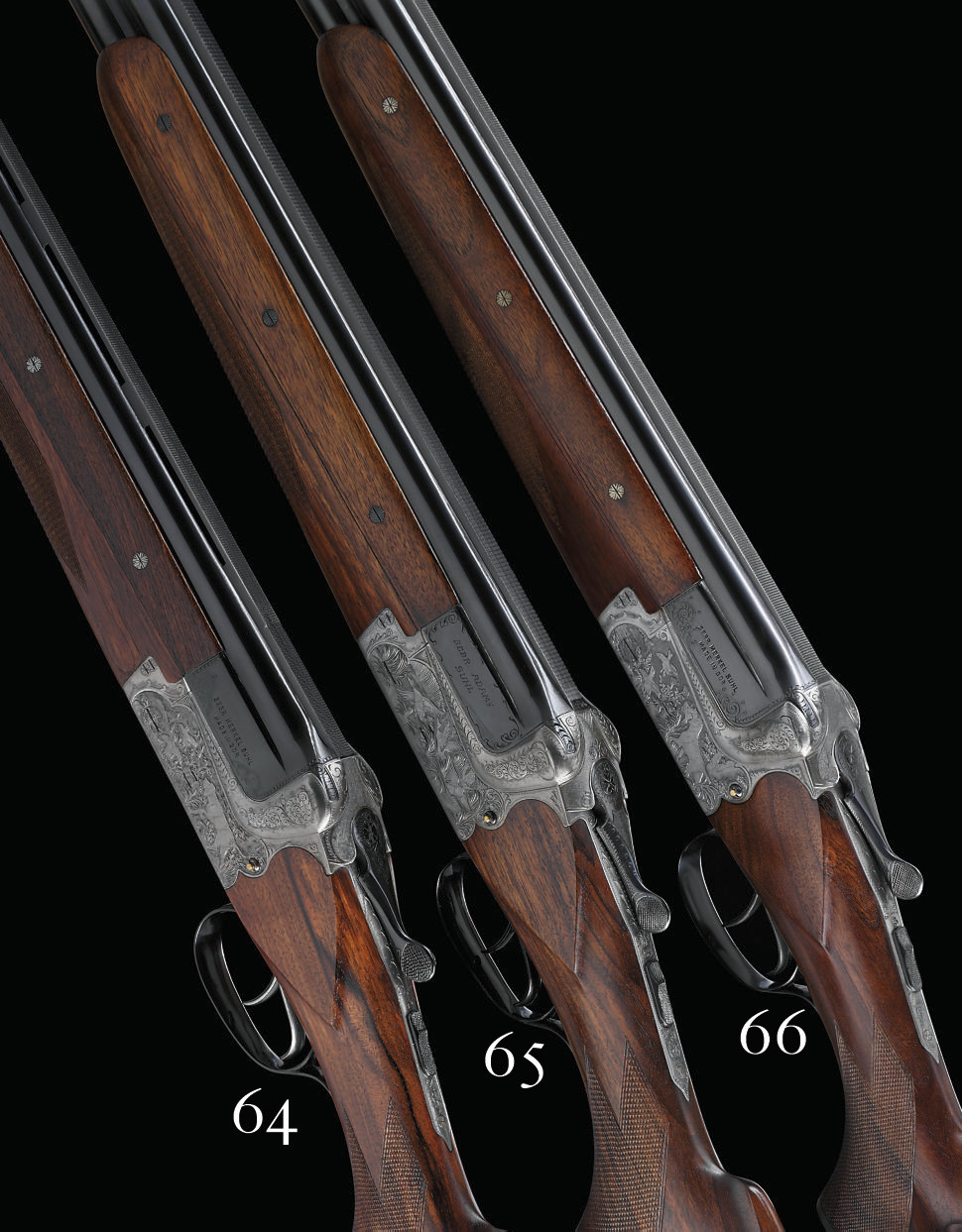 AN AS NEW 12-BORE '22 EM' MODEL OVER-AND-UNDER BOXLOCK EJECTOR GUN BY GEBRUDER ADAMY, NO. 5975